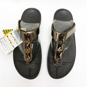 NWT FitFlop Bronze Sandals